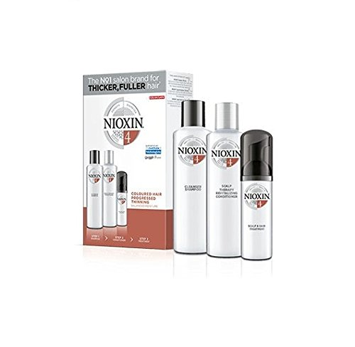 Nioxin System 4 Kit, Noticeably Thinning, Fine, Chemically-Treated Hair by Nioxin (Image #1)