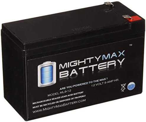 4 Pack Brand Product Mighty Max Battery 12V 9Ah SLA Battery Replacement for Oneac ON2000XRA