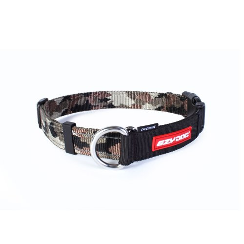 Ezydog Checkmate Collar, Large, Green Camouflage