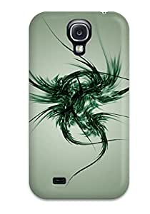 New Galaxy S4 Case Cover Casing(shapes Abstract)