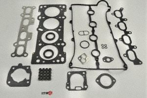 Mazda Cylinder Head (ITM Engine Components 09-11174 Cylinder Head Gasket Set for 1994-1999 Mazda 1.8L L4, BP, MX5 Miata, Protege)