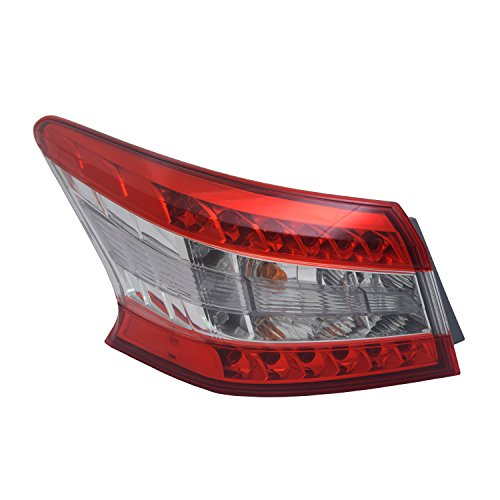 TYC 11-6550-00-1 Nissan Sentra Left Replacement Tail Lamp