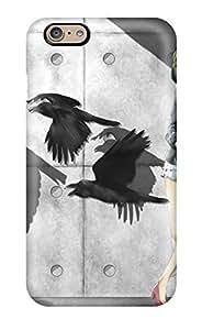 DanRobertse Perfect Tpu Case For Iphone 6/ Anti-scratch Protector Case (animal Bird Gumi Vocaloid)
