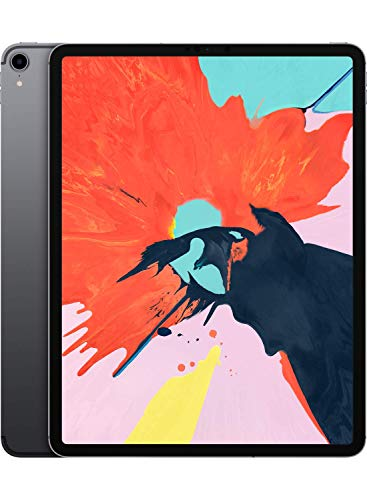 Apple iPad Pro (12.9-inch, Wi-Fi + Cellular, 256GB) - Space Gray (Latest Model)