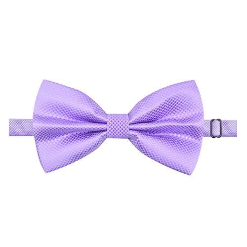 Alizeal festa Lilac partito Man la per annodata del a farfalla Cravatta già Moda nuziale TOxqwEx148