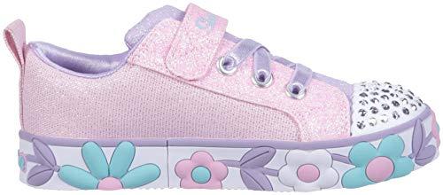 Rosa Daisy Toes Light Lites Up multi Kids Girls Infants Skechers Twinle Trainers wqxwSv4X