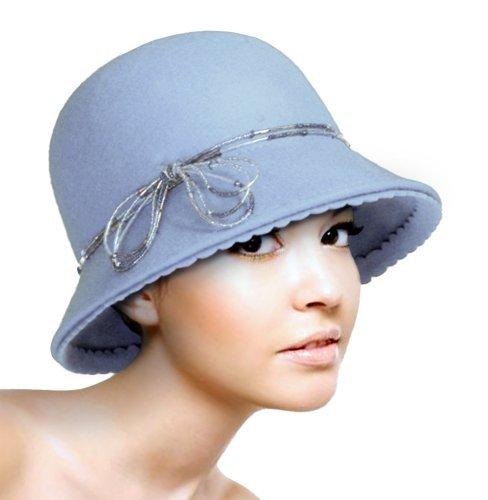 Cashmere Feel Bucket Style Cloche Felt Hat - 47800 ()