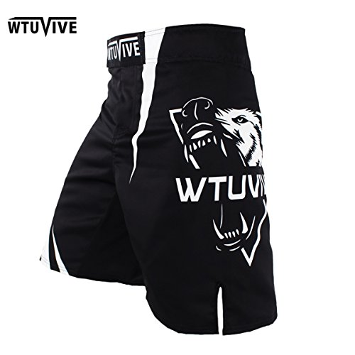 WTUVIVE 2017 New Boxing features Sports Training Thai Fist Fitness Personality Fight Flat Angle Shorts MMA Muay Thai Clothing Shorts