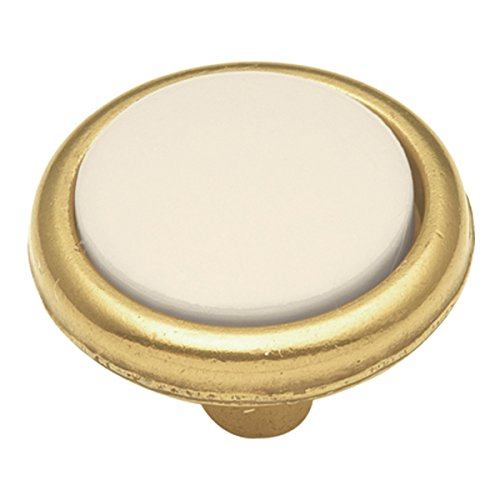 Hickory Hardware P225-LAD 1-1/4-Inch Tranquility Cabinet Knob, Light Almond