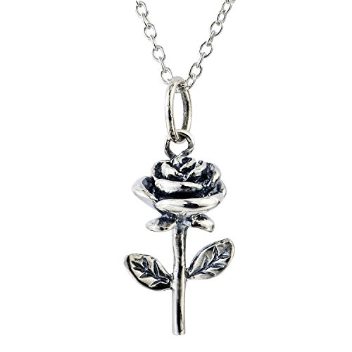 YFN Jewelry Sterling flowers Necklace