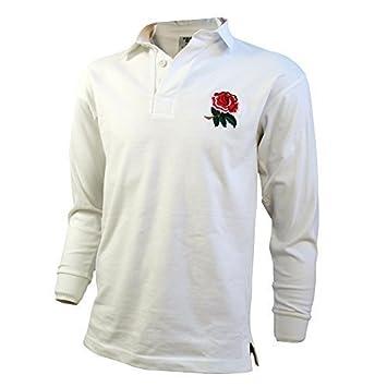 Soluciones al por mayor Ltd- Vintage estilo inglaterra Rugby camiseta algodón Rugby Copa Del Mundo Loose Fit, XL: Amazon.es: Deportes y aire libre