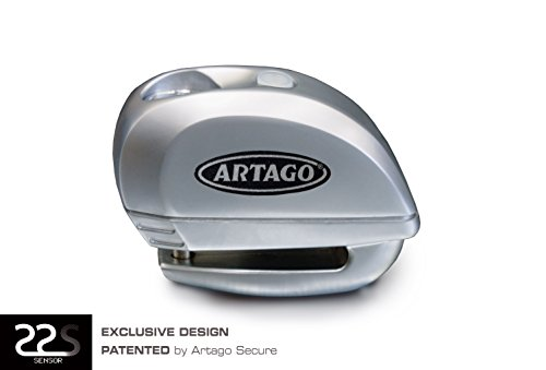 Artago Secure 22S.6M Motorcycle / Scooters / Bike Alarm Disc Lock - Anti Thief alarm 120 dB