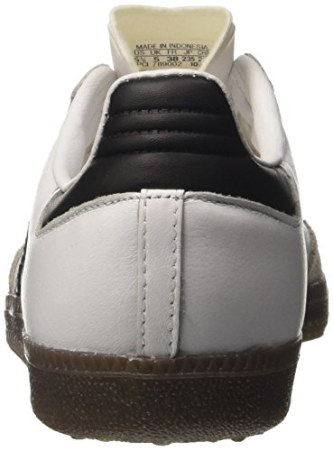 size 40 c31ba 444d8 ... adidas Damen Samba OG Sneaker Low Hals Elfenbein (Ftwr White core Black gum  ...