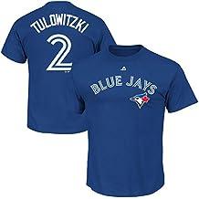 Troy Tulowitzki Toronto Blue Jays Youth Player T-shirt (Youth Xlarge 18/20)