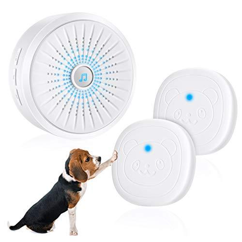 - Dog Door Bell, Dog Potty Training Doorbells with Wireless Touch Communication Bells Smart Door-Bell Train for Puppy Doggie