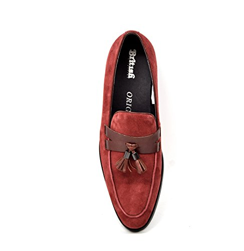 Collection Mens Space British Dress Collection British Burgundy Shoes fqTnFwOv