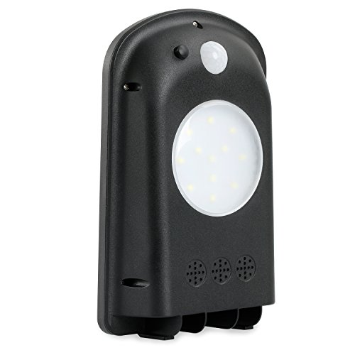 Levin Solar Powered Motion Sensor Light
