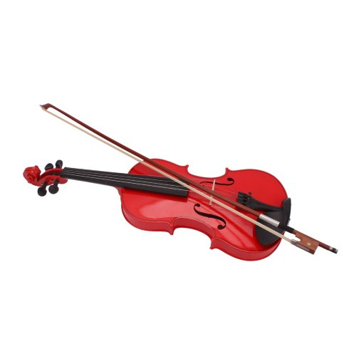 Lovinland 4/4 Acoustic Violin Red Beginner Violin Full Size with Case Bow Rosin by Lovinland (Image #2)