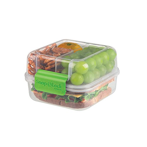 SnapLock by Progressive Lunch Cube To-Go Container, Green