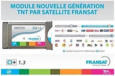 Neotion ACY-MCVF-0302 - Receptor satélite módulo PCMCIA Fransat 1,3 Ci+, Color Blanco (Importado): Amazon.es: Electrónica