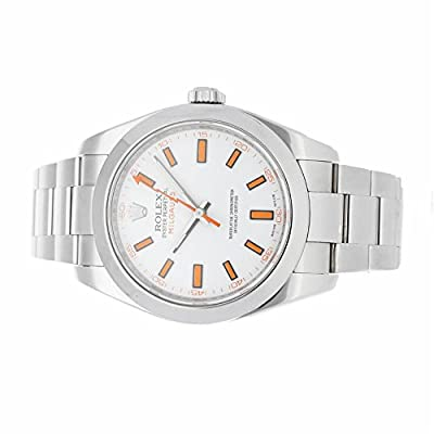 Rolex Milgauss automatic-self-wind mens Watch 116400 (Certified Pre-owned)