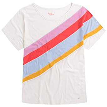 Pepe Jeans T-Shirts For Women, Multi Color M