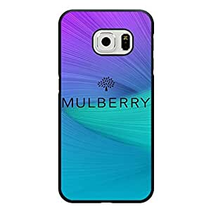 Colorful Rainbow Classical Logo Mulberry Phone Case Cover for Samsung Galaxy S6 Edge