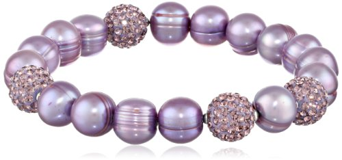 Violet Freshwater Cultured Pearl - Honora