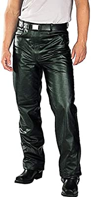 Xelement Mens Classic Fitted Leather Pants - 44