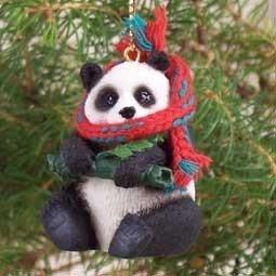 Panda Bear Ornament -