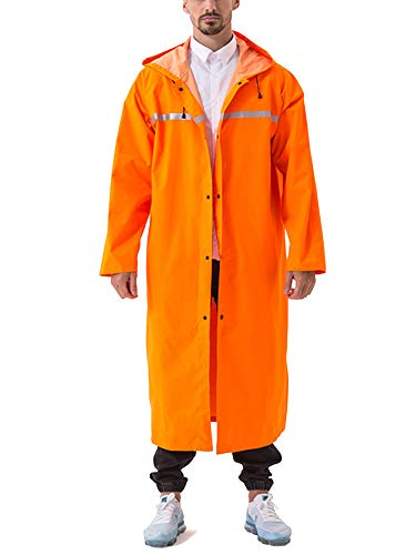- Rain Coat Men Long Raincoats for Men Rainwear Rainproof Jacket Rain Capes
