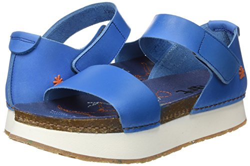 para Mujer Mojave Mykonos Punta Sea Art Abierta 1260 Sandalias con Azul BnHw40F