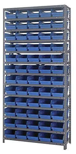 Quantum Storage Systems 1275-102BL Shelf and Bin Unit, 12