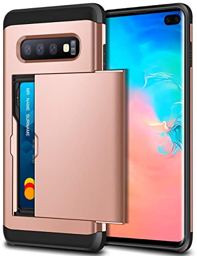 SAMONPOW Case for Galaxy S10 Plus Case Hybrid...