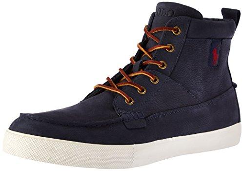 Ralph Lauren Men's Tavis-Sk-Vlc Sneaker - Newport Navy - ...