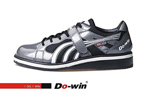 Do-Win - Unisex Weightlifting Shoes Powerlifting Shoes Squat Shoes Cross-Trainer (EUR42) Grey