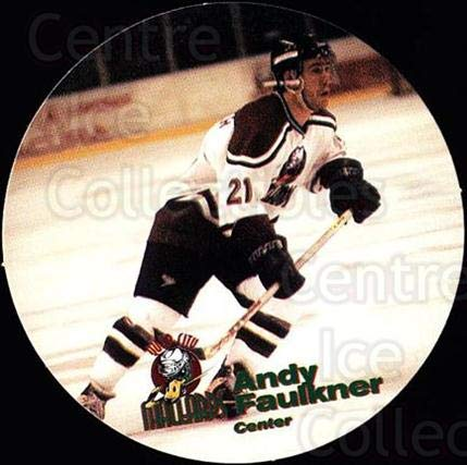 (CI) Andy Faulkner Hockey Card 1996-97 Quad City Mallards for sale  Delivered anywhere in USA