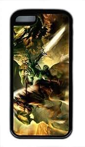 meilz aiaithe legend of zelda Customized Hard tpu ipod touch 5 Black Casemeilz aiai