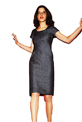 US BODEN BODEN Denim Montmartre 2 WH368 Dress Size Montmartre 055Rq