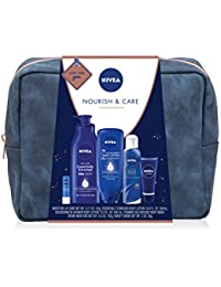 Pamper Time Gift Set - 5 Piece Luxury Collection of Moisturizing Products and Travel Bag Included