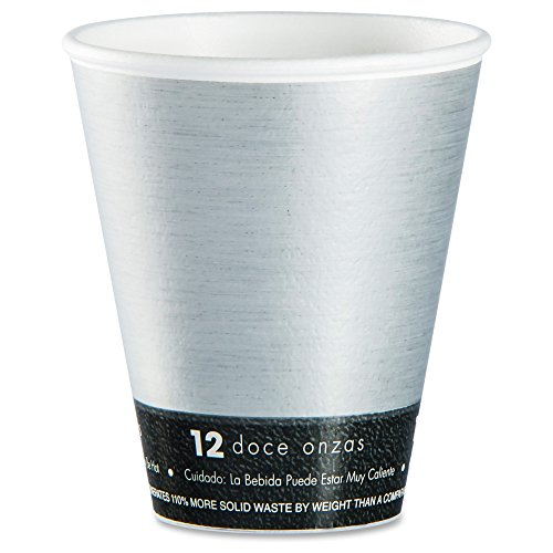 Dart 12U16FS 12 oz Steele Fusion Cup (Case of 1000)