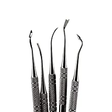 NEW 5pcs Assorted Dental Lab Stainless Steel Kit Plaster Carving Tool Spatula