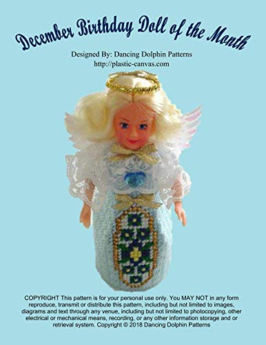 December Birthday Doll of the Month: Plastic Canvas Pattern