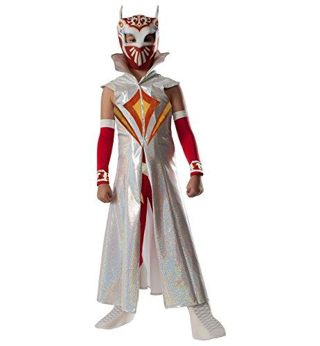 [Rubies WWE Deluxe Sin Cara Costume, Child Small] (Wwe Girl Costumes)