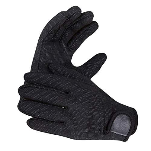 SaniMomo 1.5mm Wetsuit Gloves – Surfing/Open Water Swimming/Water Sports – Men & Women – M