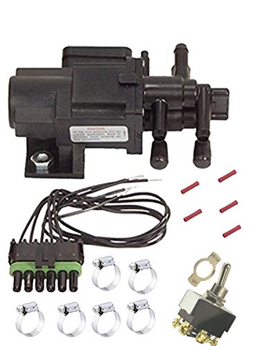 DUAL TANK Gas/Diesel SELECTOR SWITCHING VALVE KIT/CONNECTOR TOGGLE MAIN AUXILIARY SWITCH OVER W/Instructions U7000 FV5 Professional Fuel Tank Selector Valve Brand: SMP/Standard Motor