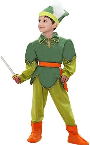 Disfraz Carnaval Peter Pan Baby 4ANNI VERDE: Amazon.es: Bebé