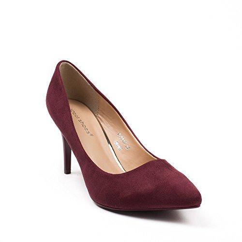 Damen Ideal Ideal Damen Ideal Bordeaux Pumps Bordeaux Shoes Shoes Shoes Pumps Pumps Bordeaux Damen FqffwP