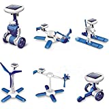 6 in 1 Educational Solar Robot Build Up DIY Plane Helicopter Boat Car Windmill