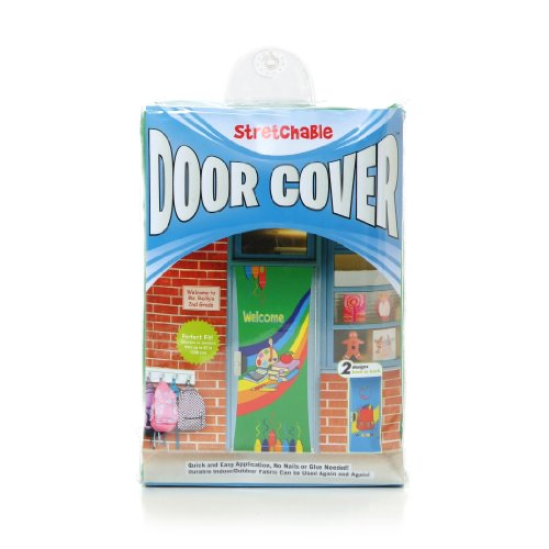 Classroom Door - Kittrich Corporation Double-Sided Decorative Welcome Back to School Stretchable Door Cover